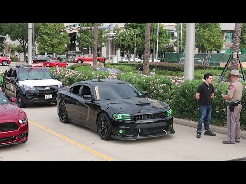 Coffee And Cars Houston - August 2019 - COPS HATE MUSCLE CARS!!