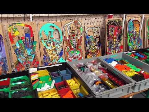 Pinball News - Twenty Minute Tour - Flip Expo 2018