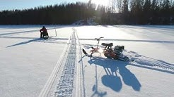 SNOWLION pilkkimiehen moottorikelkka www.snowlion.fi