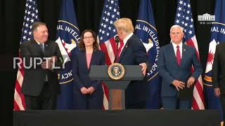 USA: Trump praises CIA during swearing in for first female director