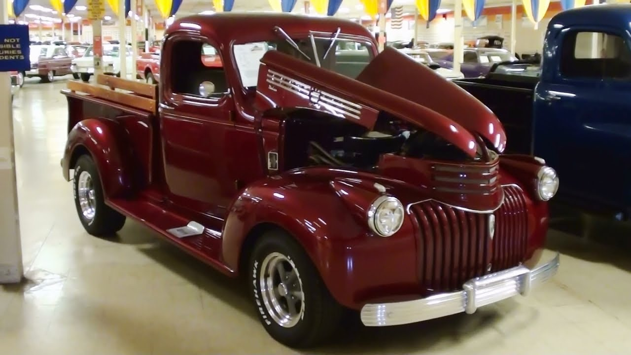 1941 Chevrolet Hot Rod Pickup - YouTube