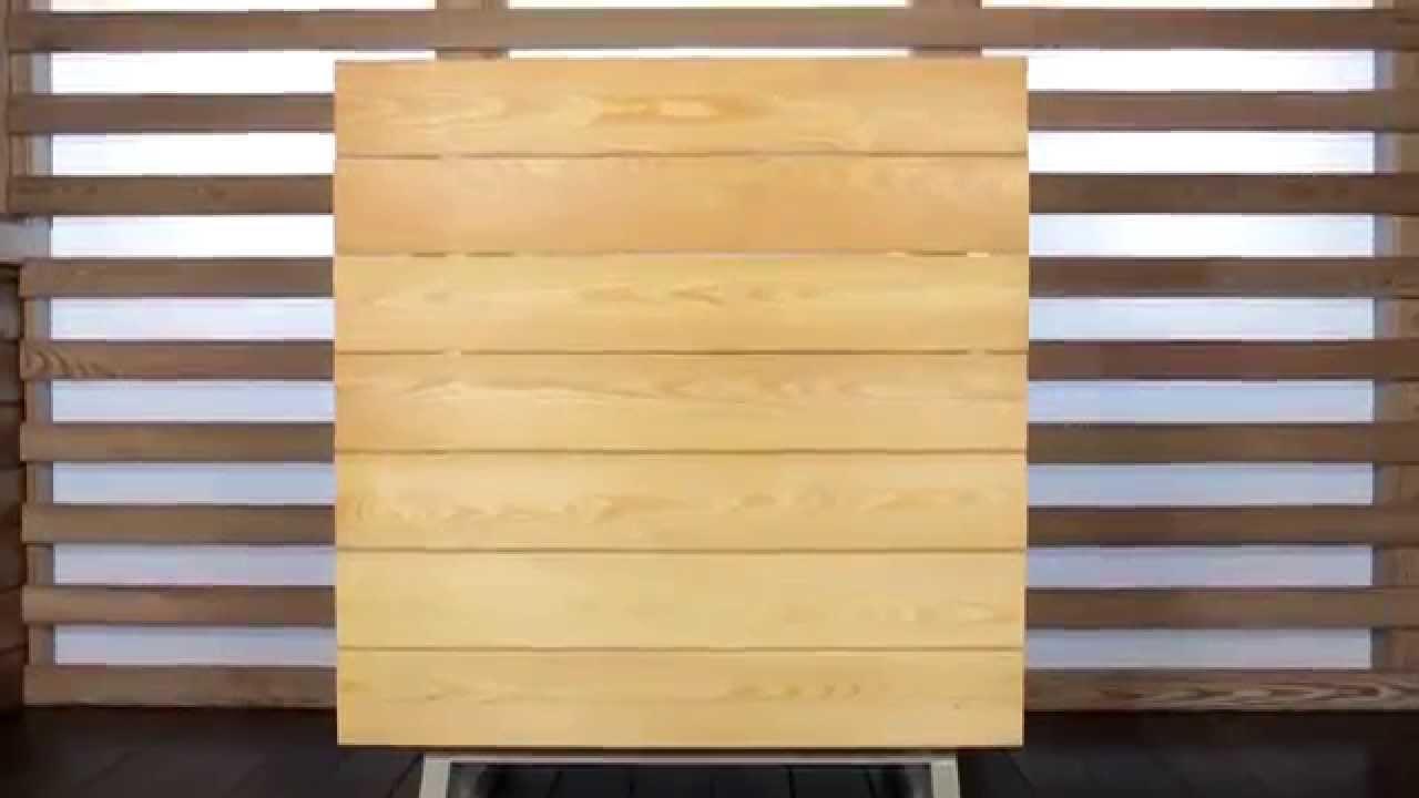 Монтаж фасадной доски на крепеж планфикс