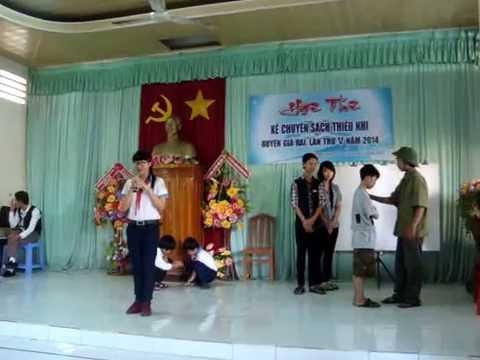 Nguyễn Thị Nhã Trân Kể Chuyện Theo Sách