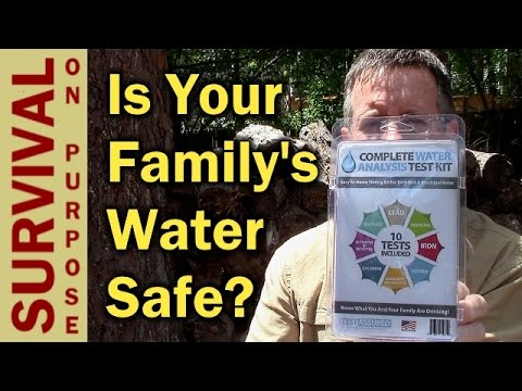 Water Test Kit - In Home Water Analysis