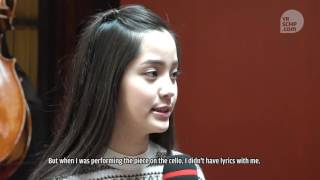 Nana Ou-yang about what she tells herself in order to achieve her dreams