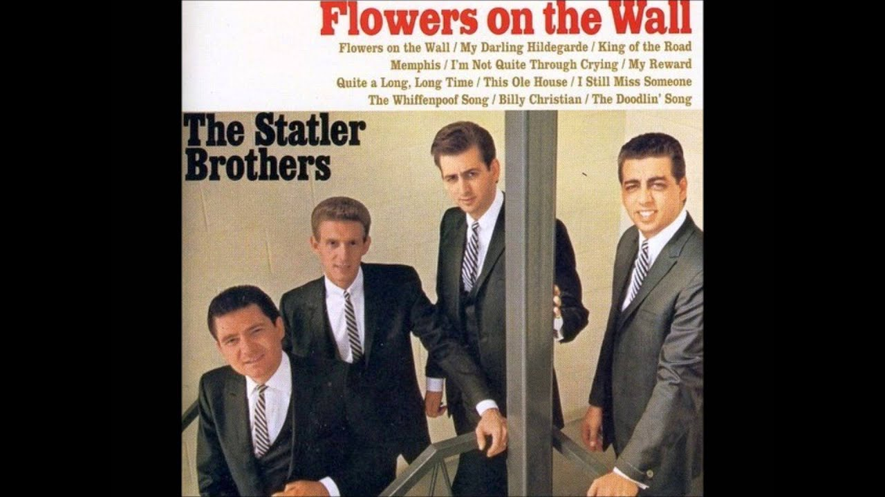 FLOWERS ON THE WALL STATLER BROTHERS 1966 VINYL LP