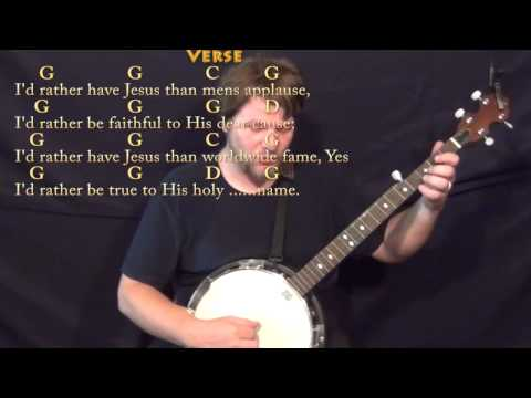 Id Rather Have Jesus chords by SDA Hymns - Worship Chords