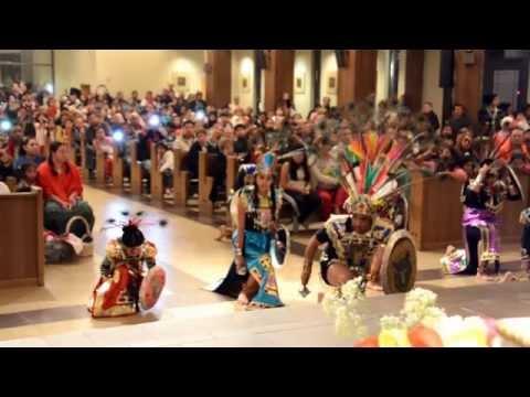 IHM Atlanta: Guadalupe: 2014 12 11 Aztec Dance
