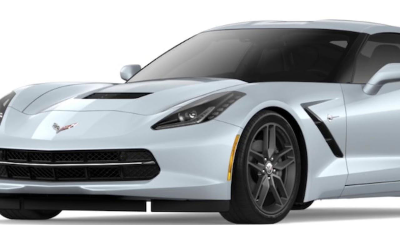 2018 Corvette Stingray Colors Youtube