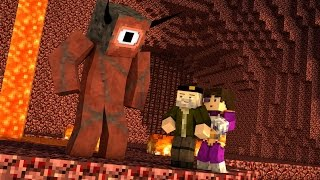 Minecraft | EL DIABLO!! c/ Vegetta | Minijuego BUILD BATTLE