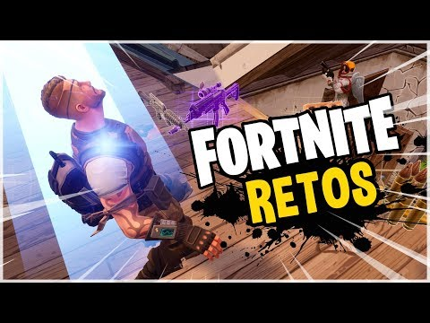 Fortnite | Completando Retos