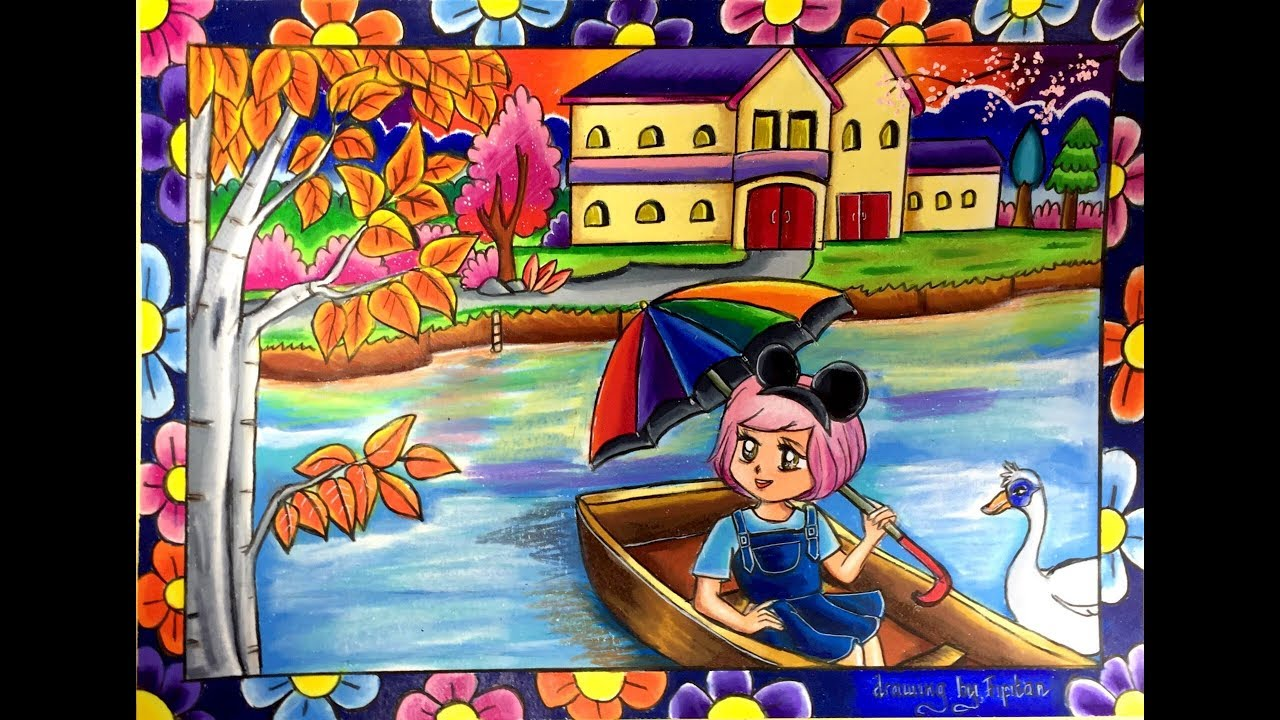 Drawing By Fifitan Rumah Jamur Creative Ideas