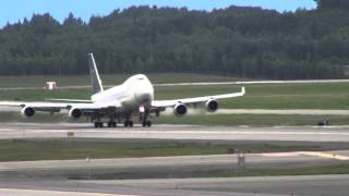 "Anchorage Airport ""Heavy"" Takeoff"
