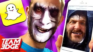 SNAPCHAT FACE SWAP CHALLENGE!!