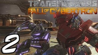 Transformers Fall Of Cybertron Part 2 [HD] Walkthrough Playthrough Gameplay Xbox360/PS3/PC