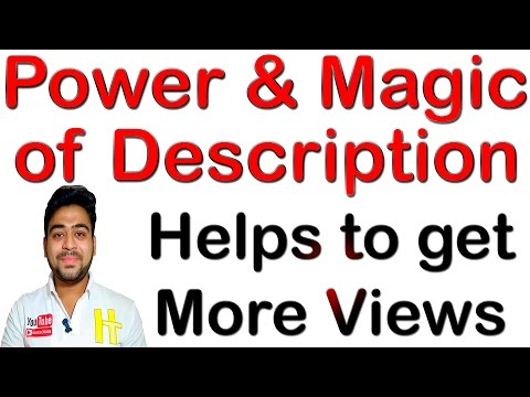 Get More Views    Youtube Search Ranking    Video Description Tips    Hindi