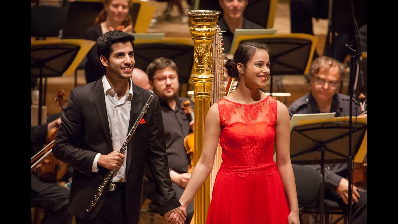 Mozart Flute and Harp Concerto - Israel Philharmonic #1
