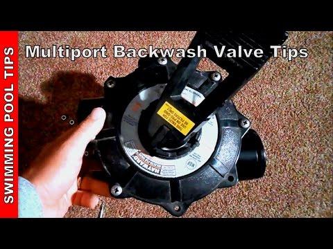 Hayward Mutliport backwash valve troubleshooting
