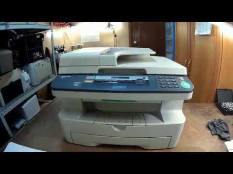 Необычный дефект печати принтера, типа Panasonik KX-MB 2000/1900/MB773/283/2020 и т.п. Инструкция