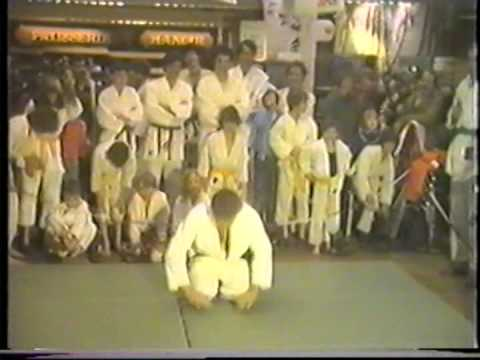 Démonstration de Judo à la Migros de Martigny, dans les années 80'