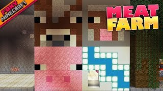 Minecraft | COOKED MEAT FARM PT. 2 | Bedrock Survival Realm [76]