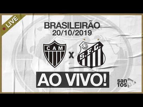 AO VIVO: ATLÉTICO-MG 2 x 0 SANTOS | NARRAÇÃO | BRASILEIRÃO (20/10/19)