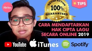 Cara Mendaftarkan Hak Cipta Lagu Secara Online & Mudah