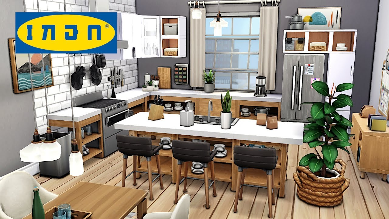 Ikea Style Family Apartment 👨👩👧👦 | The Sims 4 - Speed Build (NO CC)