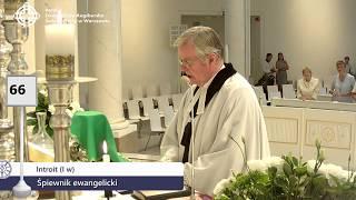 Nabożeństwo z kościoła Świętej Trójcy 12 sierpnia 2018