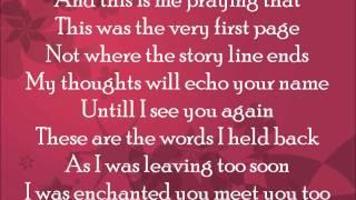 Repeat youtube video Owl City - Enchanted (Taylor Swift cover) lyrics