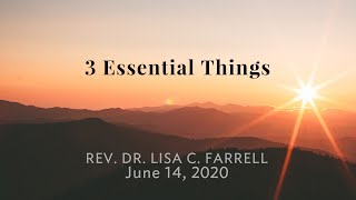 3 Essential Things