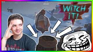 TROLLENÍ HUNTERŮ! - Witch It! #5 /w MenT, Baxtrix, House