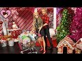 Barbie & Ken Christmas Shopping Morning Routine  - Toy Shop & Mall Playset