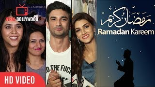 Bollywood Celebrities Wishing Happy Ramadan | Ramzan Mubarak | Ramadan Kareem