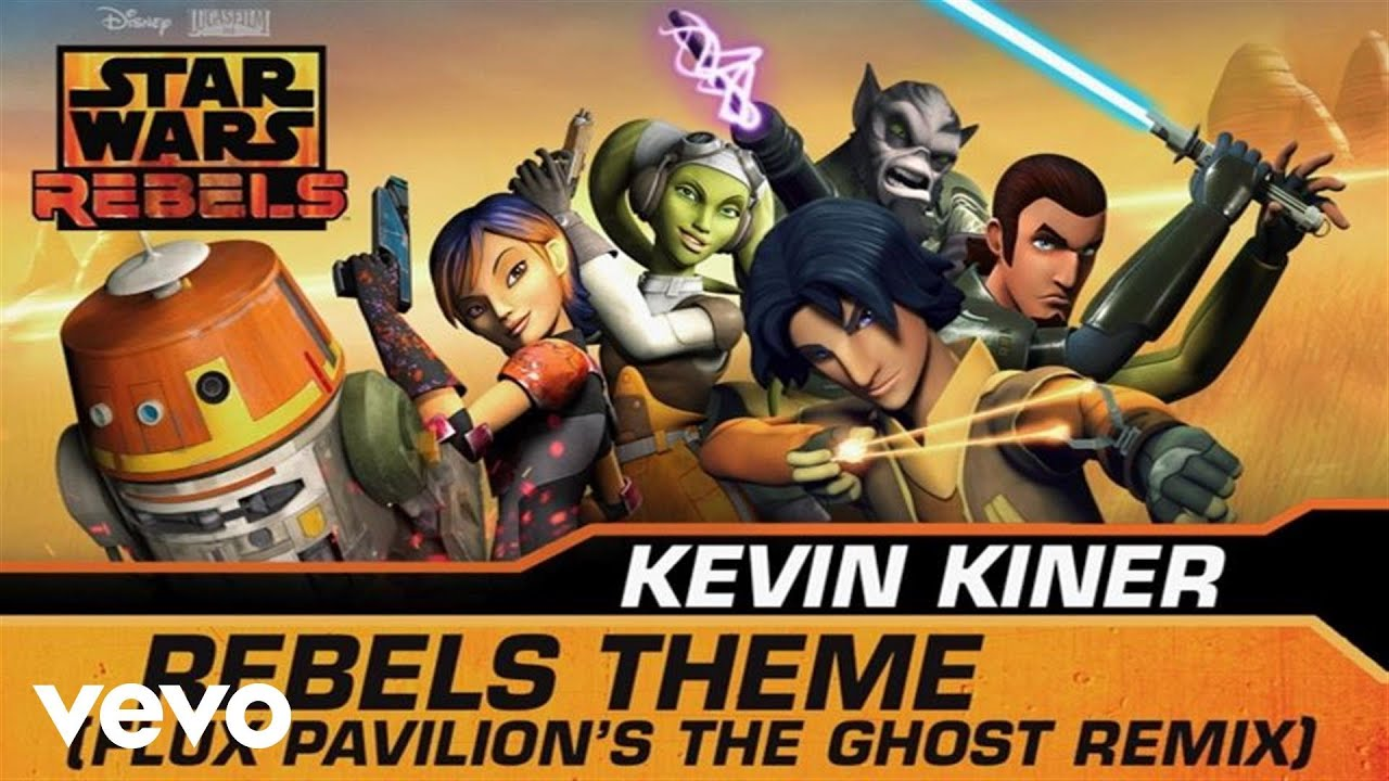 """Top Rebels Theme (Flux Pavilion's The Ghost Remix/From """"Star Wars  AO27"""