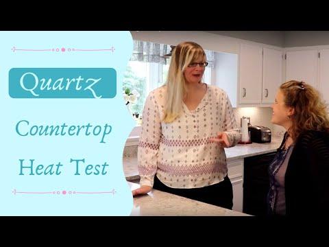 Quartz Countertops and using a hotpad