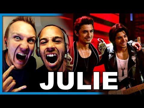 Ali Zafar feat. Danyal Zafar, Julie, Coke Studio Season 10, Episode 4 | Reaction by Robin and Jesper