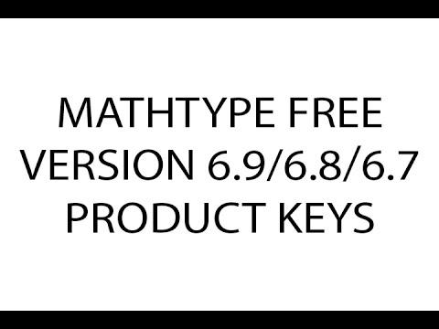 mathtype 7.2 0 product key