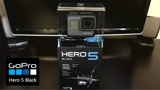 GoPro Hero 5 Black Unboxing And Setup
