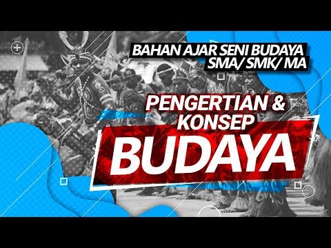 Download KONSEP BUDAYA| PENGERTIAN BUDAYA DAN SENI