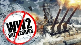 Why WW2 battleships are obsolete