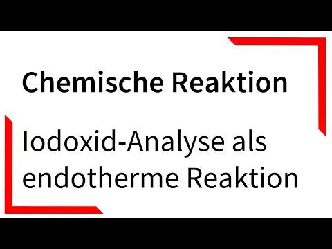 Iodoxid-Analyse als endotherme