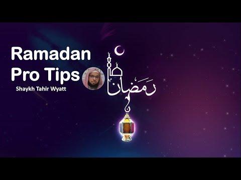 New Bettering your Ramadan Shaykh Tahir Wyatt 2018 USA