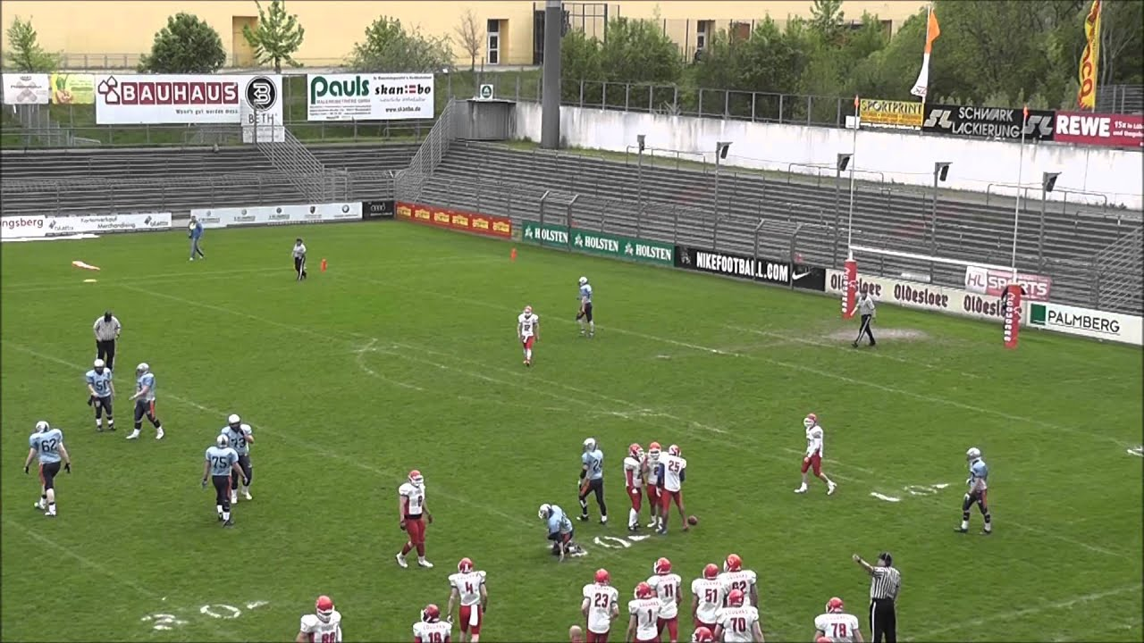 Lubeck Cougars Vs Rostock Griffins Highlights 2013 Youtube