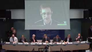 Edward Snowden Testimony @ Parliamentary Assembly of the Council of Europe (PACE) - 04/08/2014