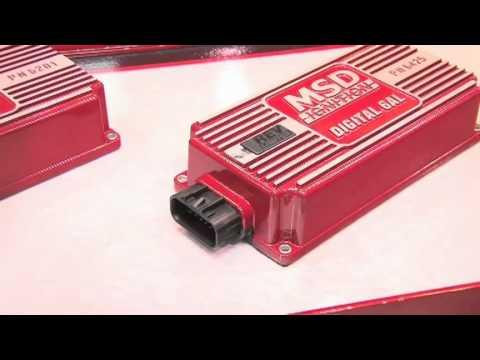 MSD 6A and 6AL Digital Ignitions - SEMA Show 2010 - Pep Boys