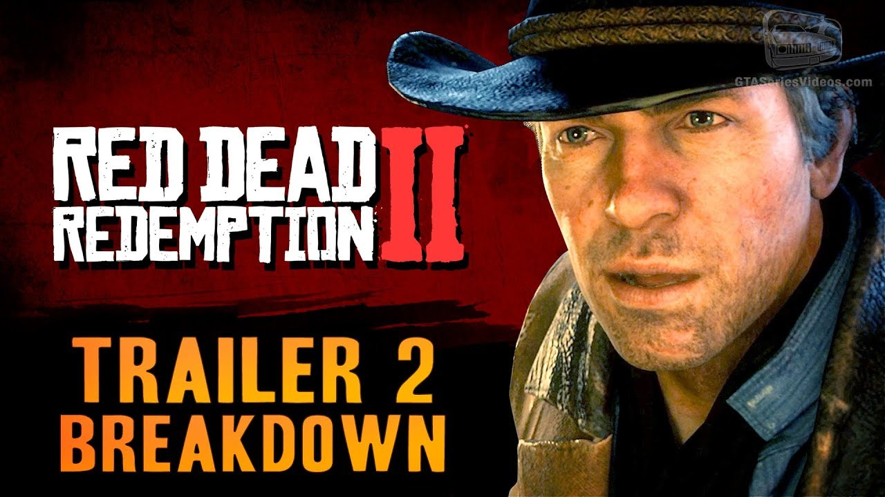 Red Dead Redemption 2 Trailer 2 Breakdown Youtube