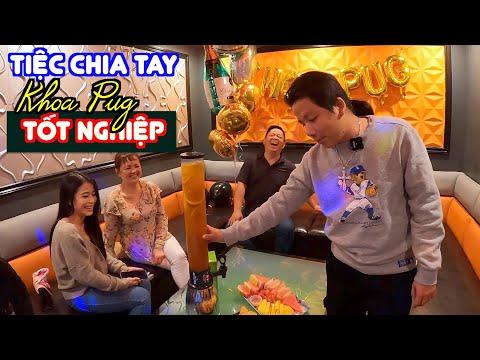 Tiệc Chia Tay - Khoa Pug Tốt Nghiệp! - Lẩu Dê, Rụ Xương Rồng, Ốc, Karaoke Ở Mỹ Khác Gì VN?