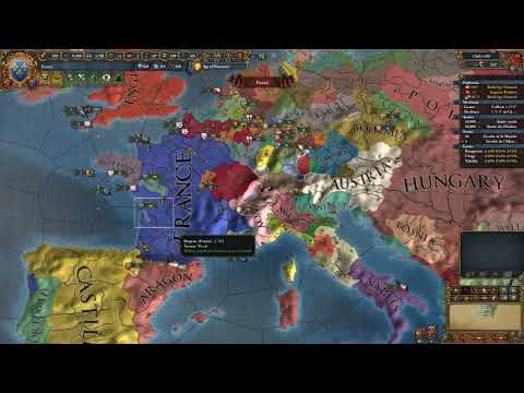 The Emperor of the Romans - French World Conquest 1.23 - Part 3 - Europa Universalis IV