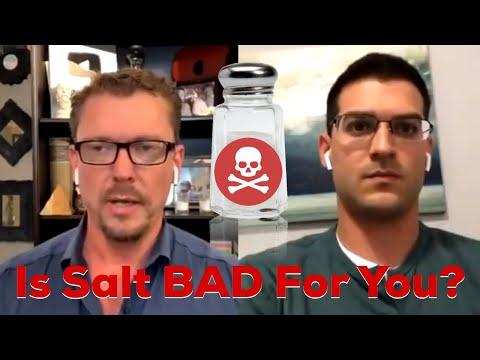 Is Salt BAD For You? Dr DiNicolantonio, Author: The Salt Fix and Super Fuel